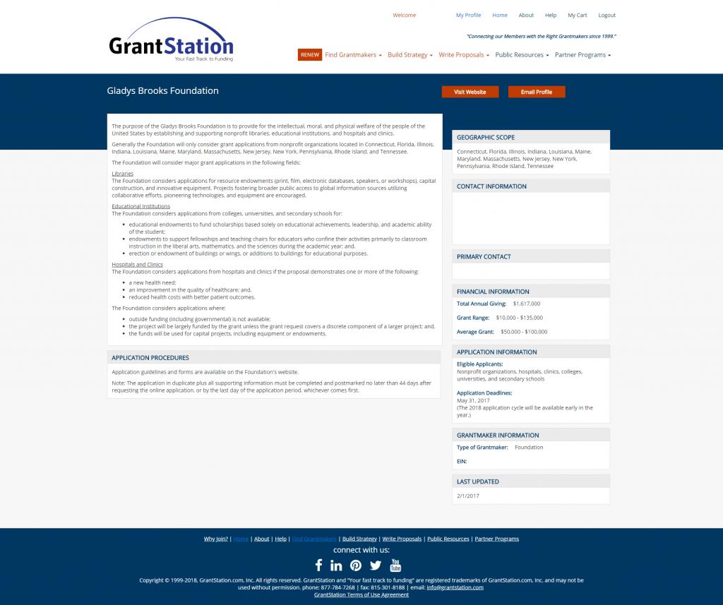 GrantStation Search 3