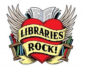 Libraries Rock Logo