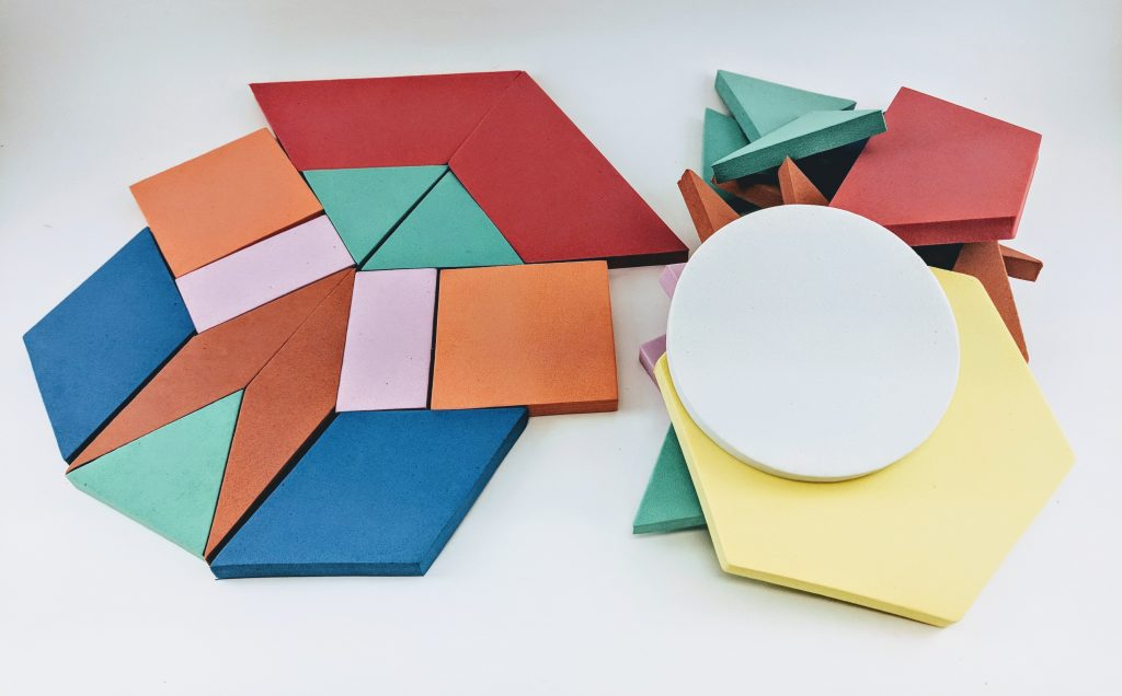 Maker Kit Foam Tangrams