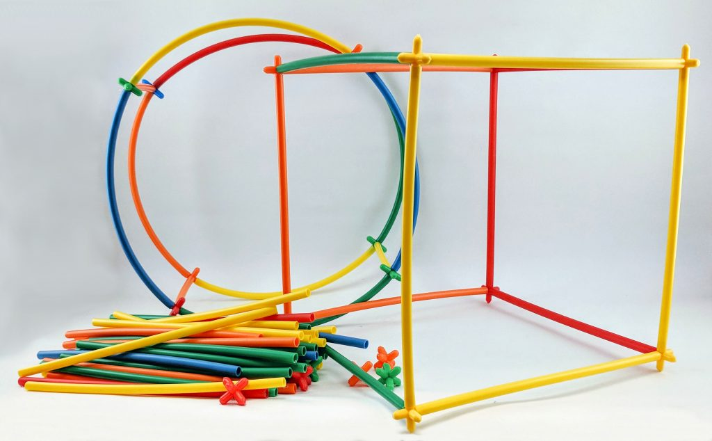 Maker Kit Straws and Connectors