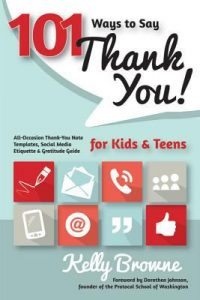 101 Ways to Say Thank You, Kids & Teens