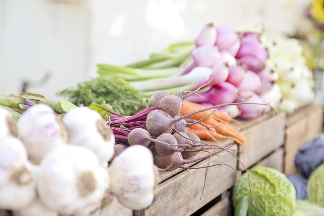 Vegetables at the Farmer's Market