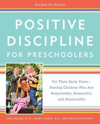 Book Cover: Positive Discipline for Preschoolers, by Jane Nelsen