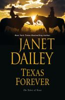 Book Cover: Texas Forever, by Janet Daily