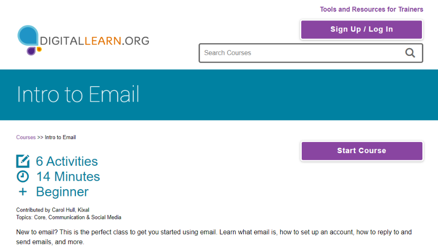 DigitalLearn Email Course