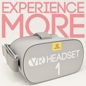 Experience More with the VR Headset