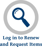 Log in to Renew and Request Items